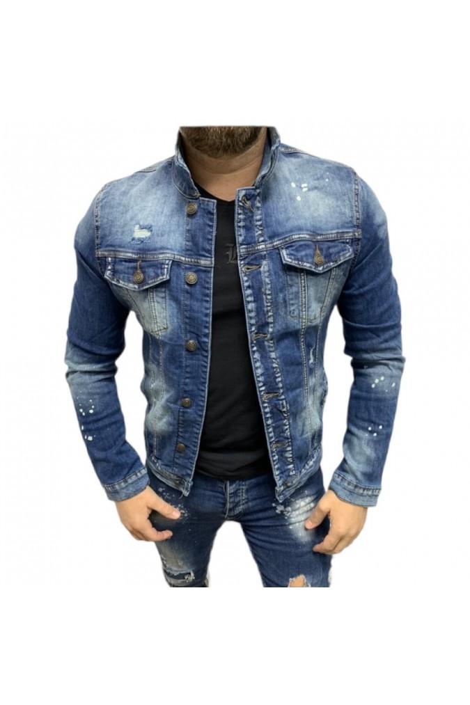 Мъжко светло дънково яке