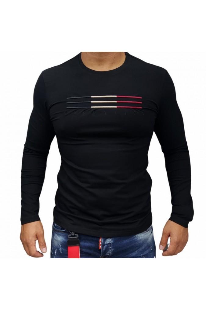 Мъжка блуза черна 87998 tommy