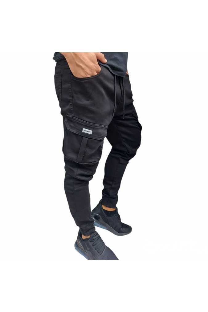 Мъжки спортен панталон черен 012 zar
