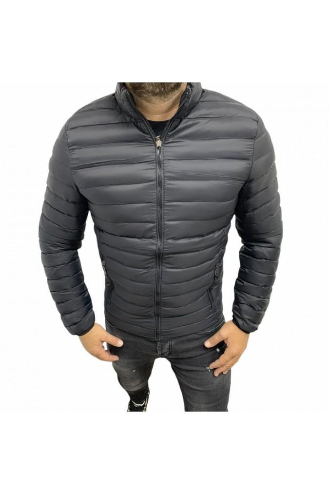 Мъжко яке черно шушляк голямо 838-1 palablu