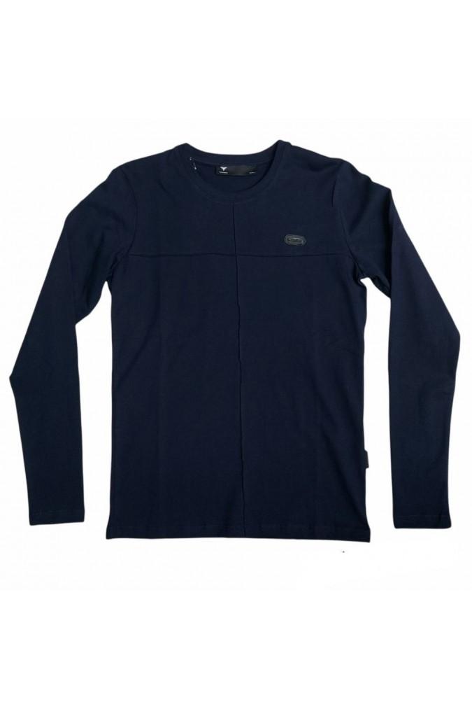 Мъжка блуза тъмно синя fabregas 125